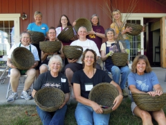 Willow Gathering Iowa 2012 rope coil class
