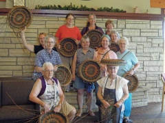 Willow Gathering Iowa 2012 potato basket class
