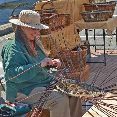 Katherine Lewis basket maker