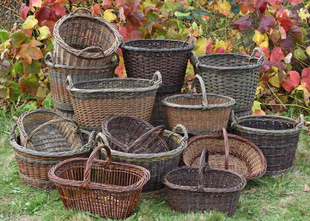 Katherine Lewis willow baskets