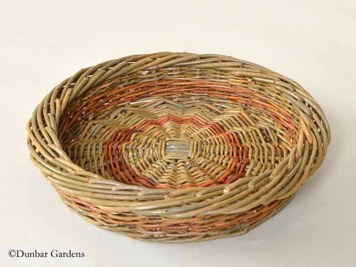Katherine Lewis willow fruit basket