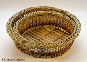 Katherine Lewis willow basket Moon