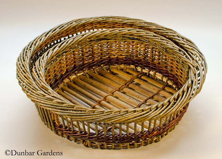 Katherine Lewis willow basket Moon