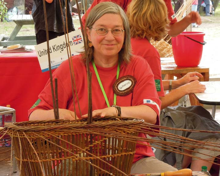 Katherine Lewis in Poland at World Wicker Festival 2011