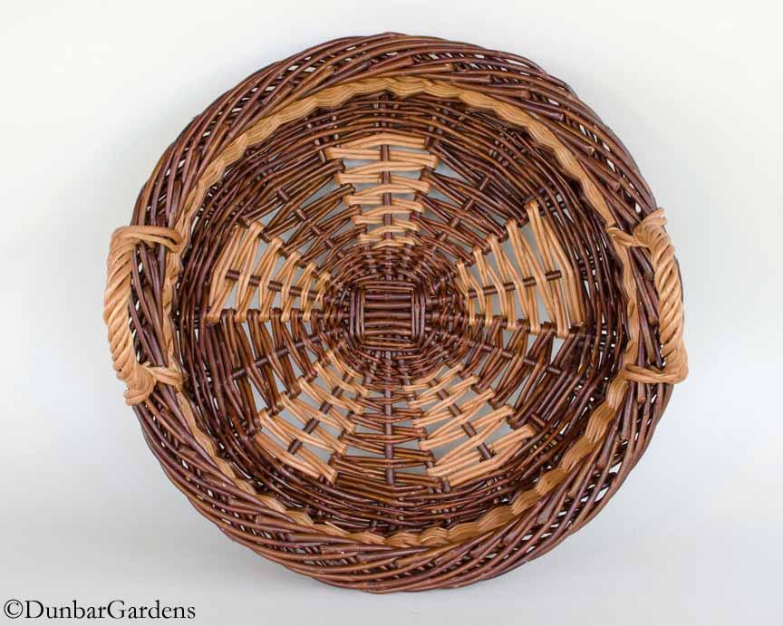 willow basket by Katherine Lewis Pi(e)