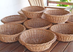 willow bread rising baskets