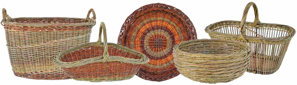 Willow basket making classes by Katherine Lewis - Dunbar ...