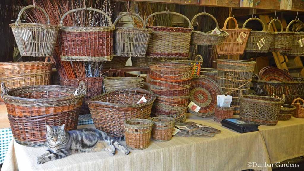 Dunbar Gardens farmstand baskets