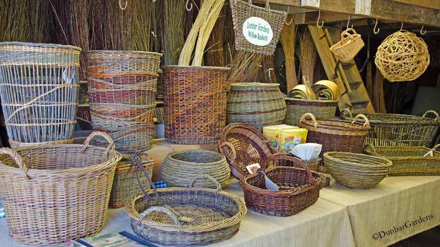 Dunbar Gardens farm stand baskets