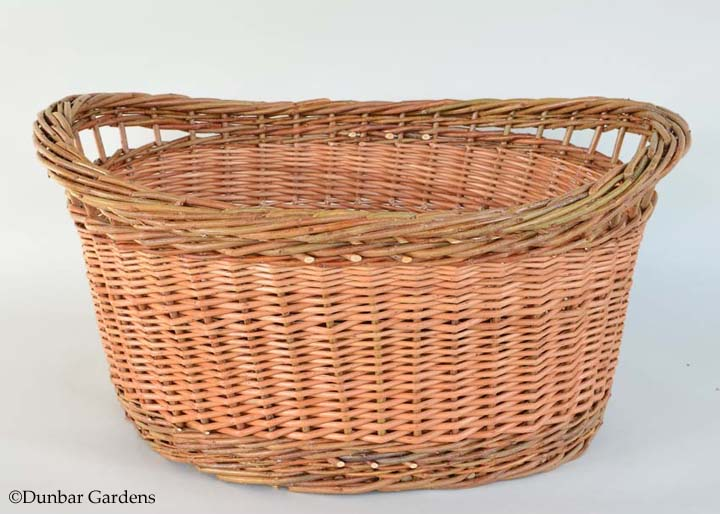 oval laundry willow basket class