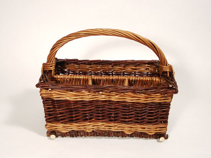 table flatware basket