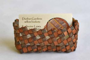 Katherine Lewis willow bark card holder