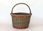 willow gathering basket
