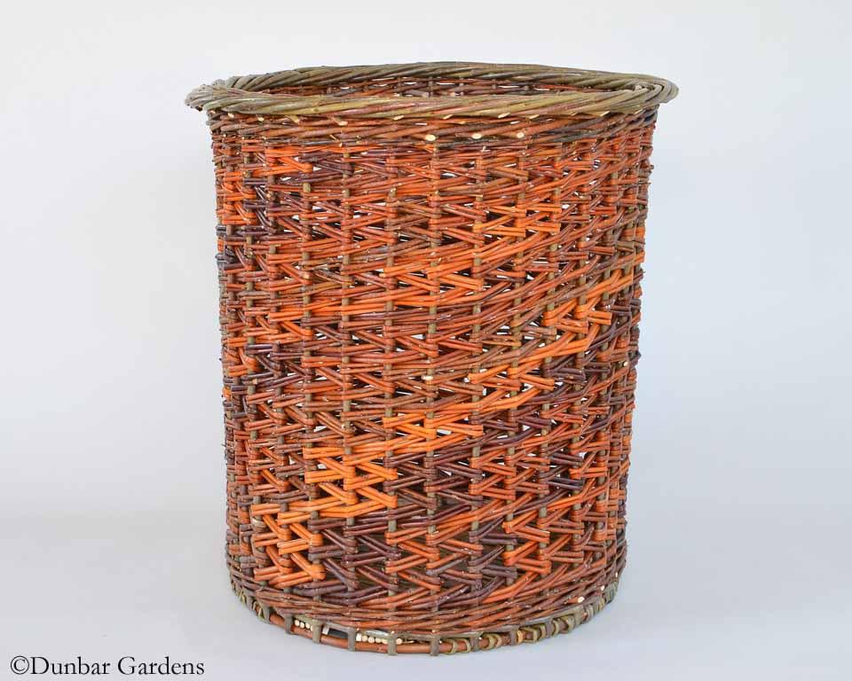 Katherine Lewis willow basket Zig Zag