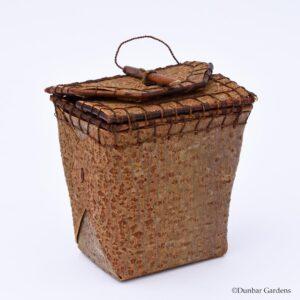 Katherine Lewis willow bark basket