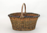 oval willow shopper